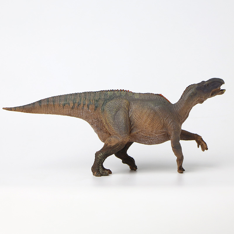24 Iguanodon Solid Simulated Dinosaur Models Toy New Products Stand-up PVC Toys