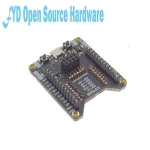 Image 4 - Esp8266 suporte de teste queimador de um clique suporte para download ESP 01S ESP 12F 12e 12s 07s