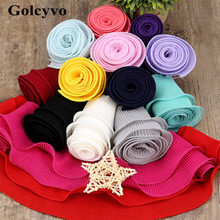 1Meter Colorful Agaric Lace Chiffon Double Layer Trims Colthing Skirt DIY Sewing Crafts 7.6cm Width