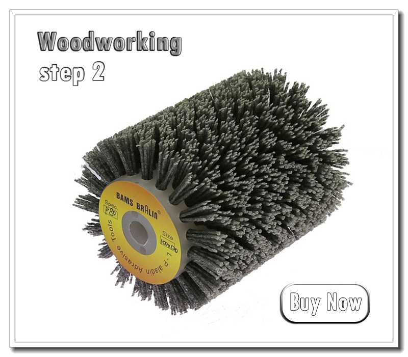 3/'/' Copper Wire Abrasive Grinding Wheel Brush For Metal Jewelry Wood Polishing