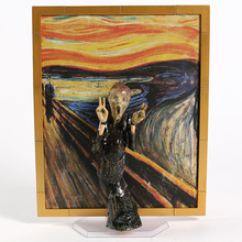 The Table Museum Figma SP 086 The Scream PVC Action Figure Collectible Model Toy