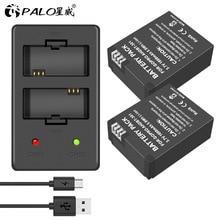Batteria originale Per La batteria GoPro Hero3 Hero3 hero 3 hero 3 batteria LED CARICATORE doppio per go pro MACCHINA FOTOGRAFICA di azione di AHDBT 301 accessorio