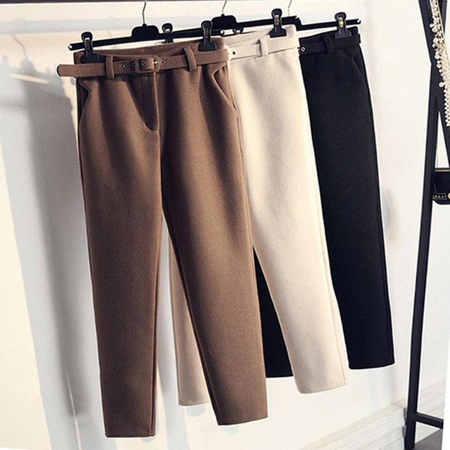 Winter Harem Pants 1
