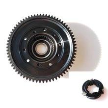 Bafang bbs01b bbs02b mid motor pinhão grande conjunto da engrenagem peça de reposição com embreagem transmissão de aço