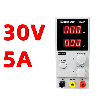 30V 5A Adjustable DC Voltage Regulators Switch Power Supply  Lw-k305d 305d Power Supply Three Digit Display sugon 3005d 30v 5a dc power supply adjustable 4 digit display laboratory power supply110 220v voltage regulator for phone repair