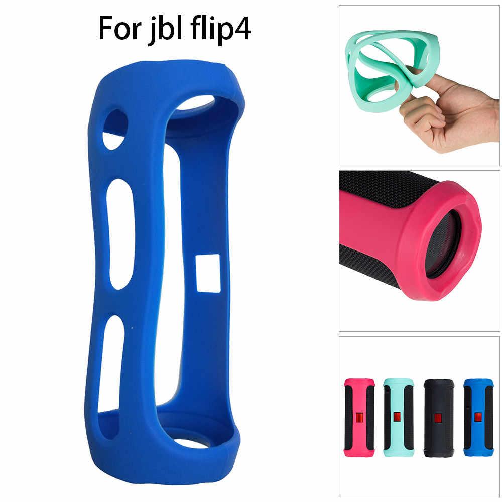 Dinapy Funda Protectora de Silicona Azul Funda Duradera antiara/ñazos Funda para Altavoz Bluetooth JBL Clip 3 // JBL Clip // JBL Clip 2