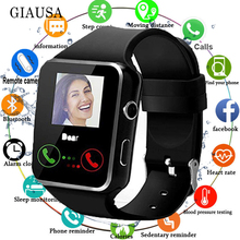 X7 Bluetooth Smart Watch with Camera Support SIM TF Card Touch Screen Alarm Cloc