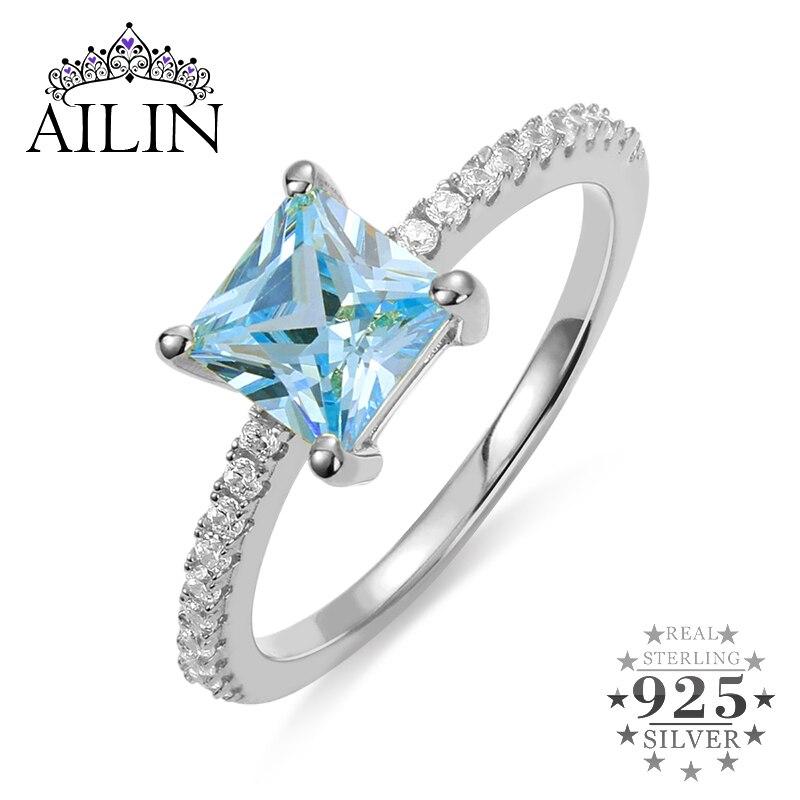 AILIN bagues femme anneau personnalisé pierre de naissance bijoux pour femmes copines cadeau anniversaire saint valentin cadeau