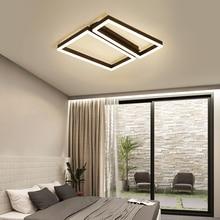 Geometric Semicircle Round Square Ceiling Light Nordic Led Room Lamp Bedroom Ceiling Lighting Dimmable 110V 120V 220V Lighting