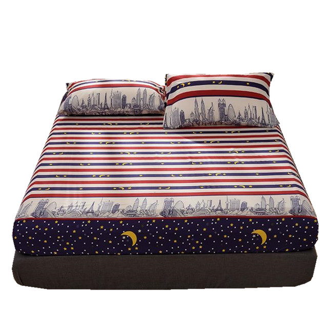 Elastic Rubber Band Bed Sheet Mattress Cover 2