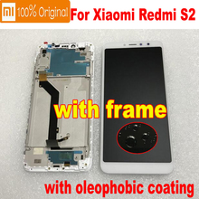 Original New Xiaomi Redmi S2 Y2 10 point Touch Panel Screen IPS LCD Display Digitizer Assembly With Frame Glass Sensor Pantalla