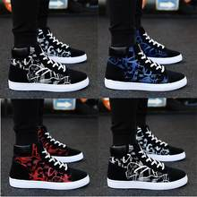 Men's Summer Of Han Edition Vogue Student Board High-top Casual Shoes casual shoes men sneakers sport shoes men 2019(China)
