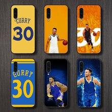 basketball Stephen Curry Phone Case Cover For Samsung Galaxy A10 A20 A30 E A40 A50 A51