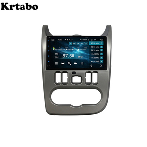 Image 2 - Car radio Android multimedia player 4G RAM For Renault Duster Dacia Logan Sandero Car touch screen GPS Support Carplay