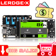 LERDGE-X 3D Printer Board 32bit for control board parts motherboard with STM32 ARM 32 Bit Mainboard tmc2208 lv8729 TMC2209(China)