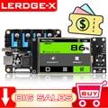 LERDGE-X Placa De Impressora 3d 32bit Para Placa Controle Peças Placa-mãe Com Braço Stm32 32bit Mainboard Tmc2208 Lv8729 Tmc2209