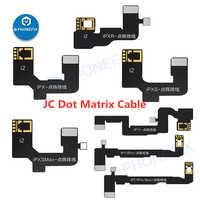 JC-Cable de matriz de puntos para iPhone, Cable flexible de reparación de identificación facial, no disponible, X/XR/XS/XSMAX/11/11Pro max