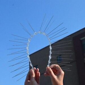Image 5 - ホット20個10 4mオーチャードステンレス鋼鳥防水針屋外設置鳥リペラーヴィラからインストール鳥デバイス