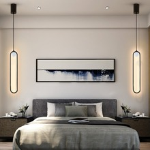 Nordic Led Pendant Lights Bedside Bedroom Table Dining Hanging Lamps Interior Lighting Track Home Decoration Accessories Fixture