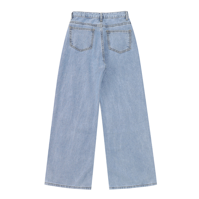 Casual baggy Jeans in two blue variants