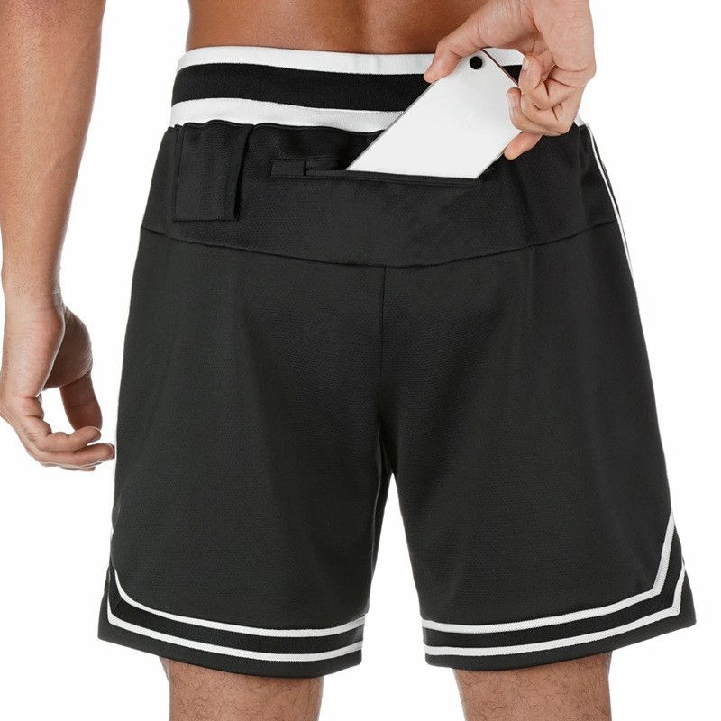 2020 Summer Quick-drying Loose Shorts Plus Size Comfort Breathable Basketball Sweatpants Strapwork Workout Running Sports Shorts