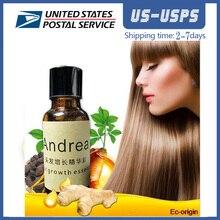 10 adet AMEIZII Andrea zencefil özü yoğun saç hızlı şemse saç büyüme özü restorasyon saç dökülmesi sıvı Serum saç bakımı yağ