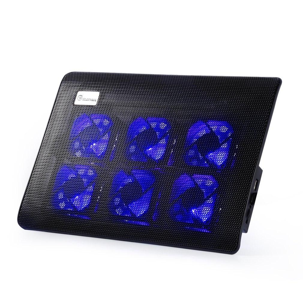 Hot Sale Cooler Pad Comfortable Ergonomic Design Super Mute 2/4/6 Fans Laptop Cooler Laptop Notebook Computer Fan Base Plate