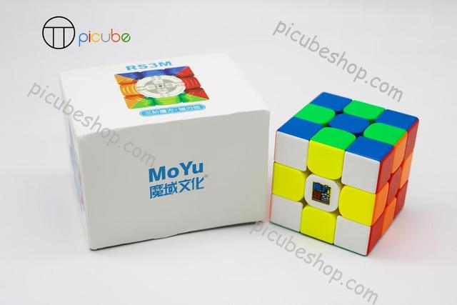 [Picube]2020 Moyu MFRS3 M Magnetic 3x3x3 speed magic cube 3x3 puzzle cube MF RS3M Magnet 3x3x3 cubo magico RS3 M 4