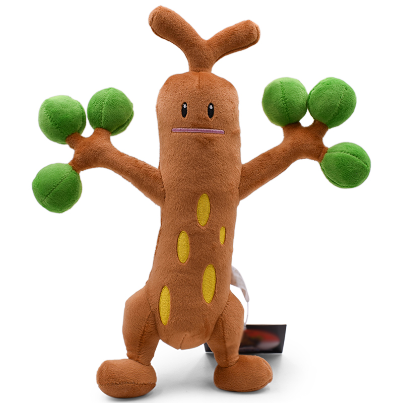 30CM Sudowoodo Plush Toy Soft Stuffed Doll Great Gift For Birthday Kids