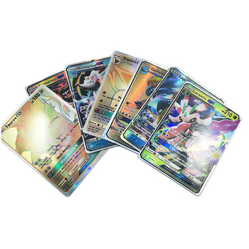 30PCS Pokemon Card Combat Flash Shining Cards Pokemon Sun Moon GX new pokemon sun