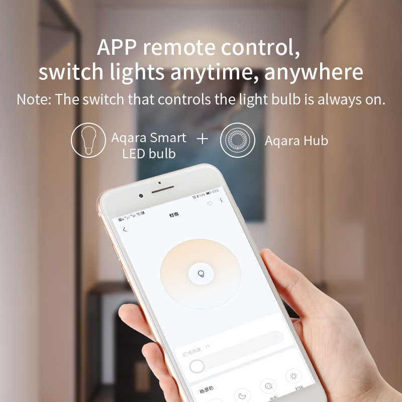 Xiaomi Smart Mi Gateway 3 AqaraฮับRGB Led Light Nightไร้สายWifi ZigbeeรีโมทคอนโทรลทำงานสำหรับApple homekit Mi Home