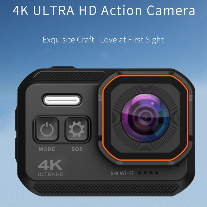 4K Wifi Action Camera IP68 Waterproof Diving Camera with 2.0 inch IPS Screen 16MP Ultra HD Sport Camera Sports DV 170 Wide Angel image
