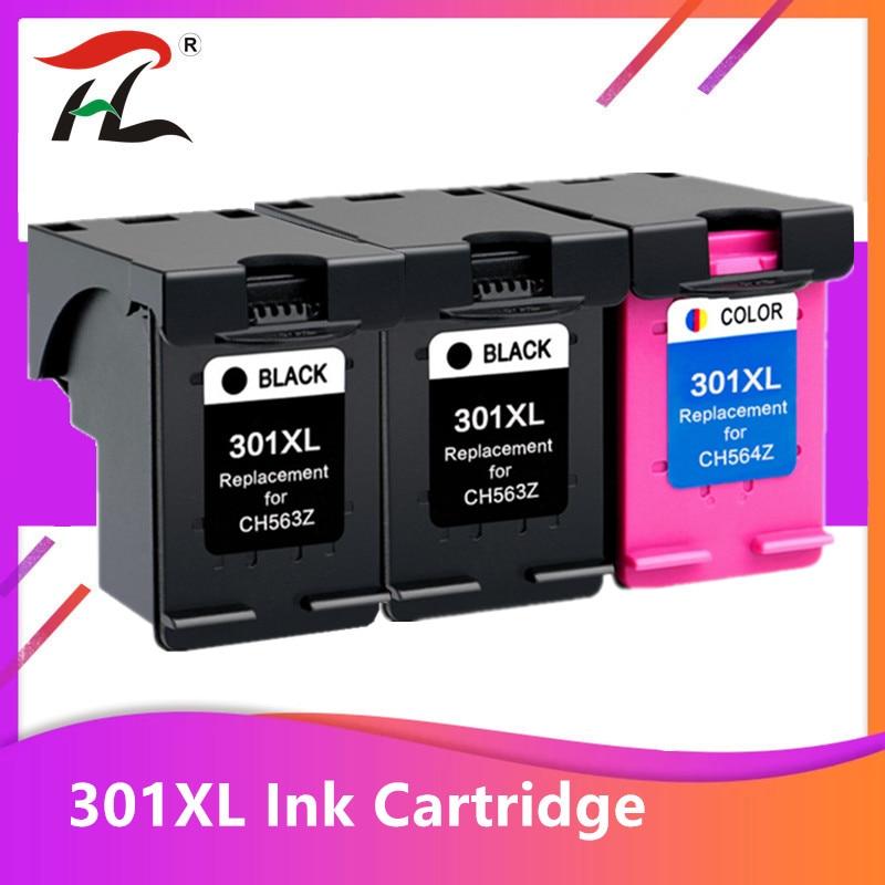 3 шт. 301XL картридж совместимый для hp 301 xl для hp301 чернильный картридж для hp Envy 5530 Deskjet 2050 2540 2510 1000 1050 принтер