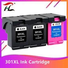 Картридж hp 301 xl для принтера hp Envy 5530 Deskjet 2050 2540 2510 1000 1050, 3 упаковки