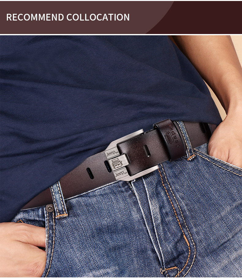 H1cf6f7c3873646a4994734964f0587aep - JIFANPAUL Men's genuine leather luxury brand belt high quality alloy pin buckle men's business retro youth with jeans new belt