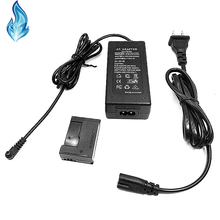 Power AC Adapter Kits ACK DC50 (CA PS700 + DR 50 DC coupler NB 7L Fake battery) for Canon Cameras PowerShot G10 G11 G12 SX30 IS