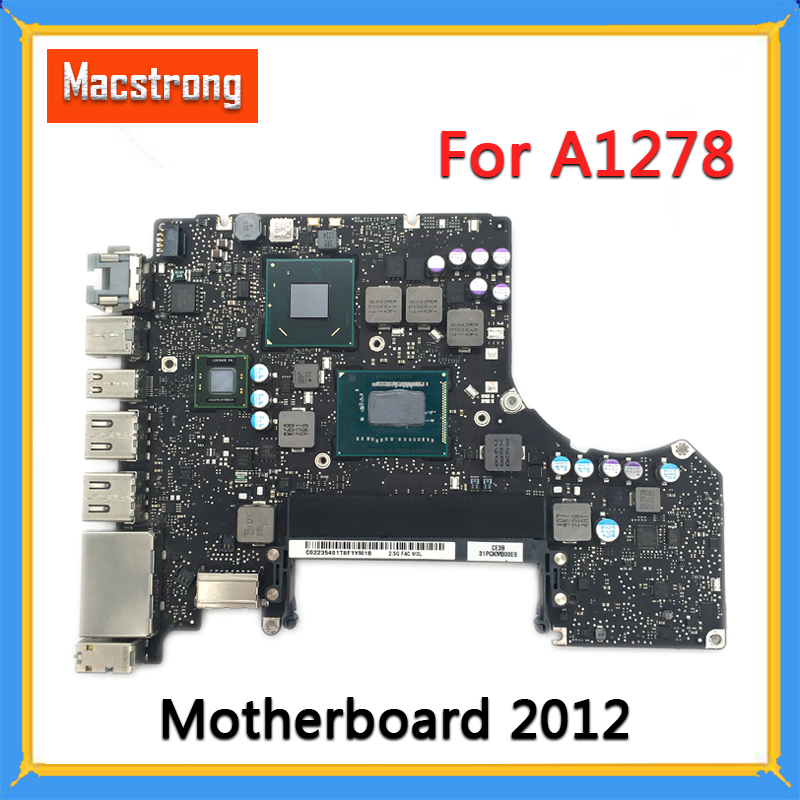 Tested Original A1278 Motherboard For MacBook Pro 13