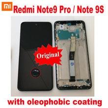 100% Оригинальный ЖК дисплей для xiaomi redmi note 9s сенсорный