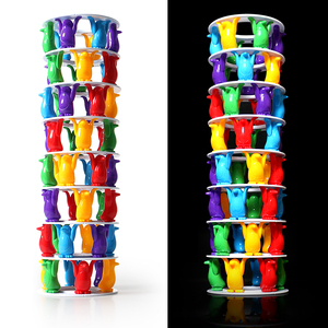 Image 5 - Tower Collapse Desktop Game Balance Toy Challenge Tower Stacked Parent Child Interactive Board Game Intelligence Toys For Kids