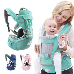 Ergonomic Baby Carrier Infant Kid Baby Sling Front Facing Kangaroo Baby Wrap Carrier for Baby Travel 0-36 Months