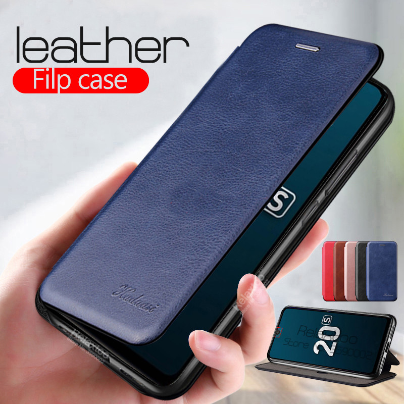 honor 20s case leather flip Magnetic phone cover For huawei honor 20s 6.15 MAR-LX1H honor20s honer 20 s stand book funda coque