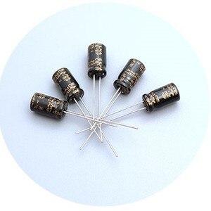 Image 2 - 50 pces elna rbd 25v47uf 6.3x11mm preto não polar 25v 47uf capacitor eletrolítico de áudio CE BP 47 uf/25 v bp 47uf 25v