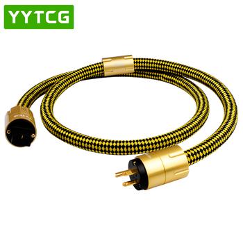 YYTCG CRYO-196 nas zasilanie prądem zmiennym przewód zasilający kabel hifi amerykański Standard płyta Audio CD wzmacniacz lampowy wzmacniacz moc US kable ue usa wtyczka zasilania tanie i dobre opinie Gniazdo Męski-żeński Rohs T3-P1 CN (pochodzenie) Przedłużacz audio Pakiet 1 KARTONOWE PUDEŁKO PLECIONY Brak Mikrofon