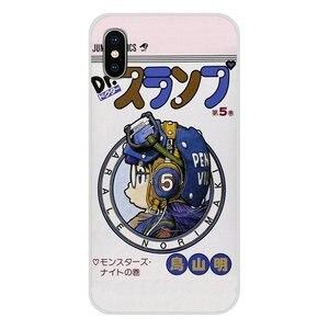 Transparent Weiche Shell Abdeckung Für Xiaomi Redmi 4A S2 Hinweis 3 3S 4 4X5 Plus 6 7 6A Pro Pocophone F1 DRAGON BALL Arale Anime Kawaii