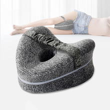 Orthopedic Pillow for Sleeping Memory Foam Leg Positioner Pillows Knee Support Cushion