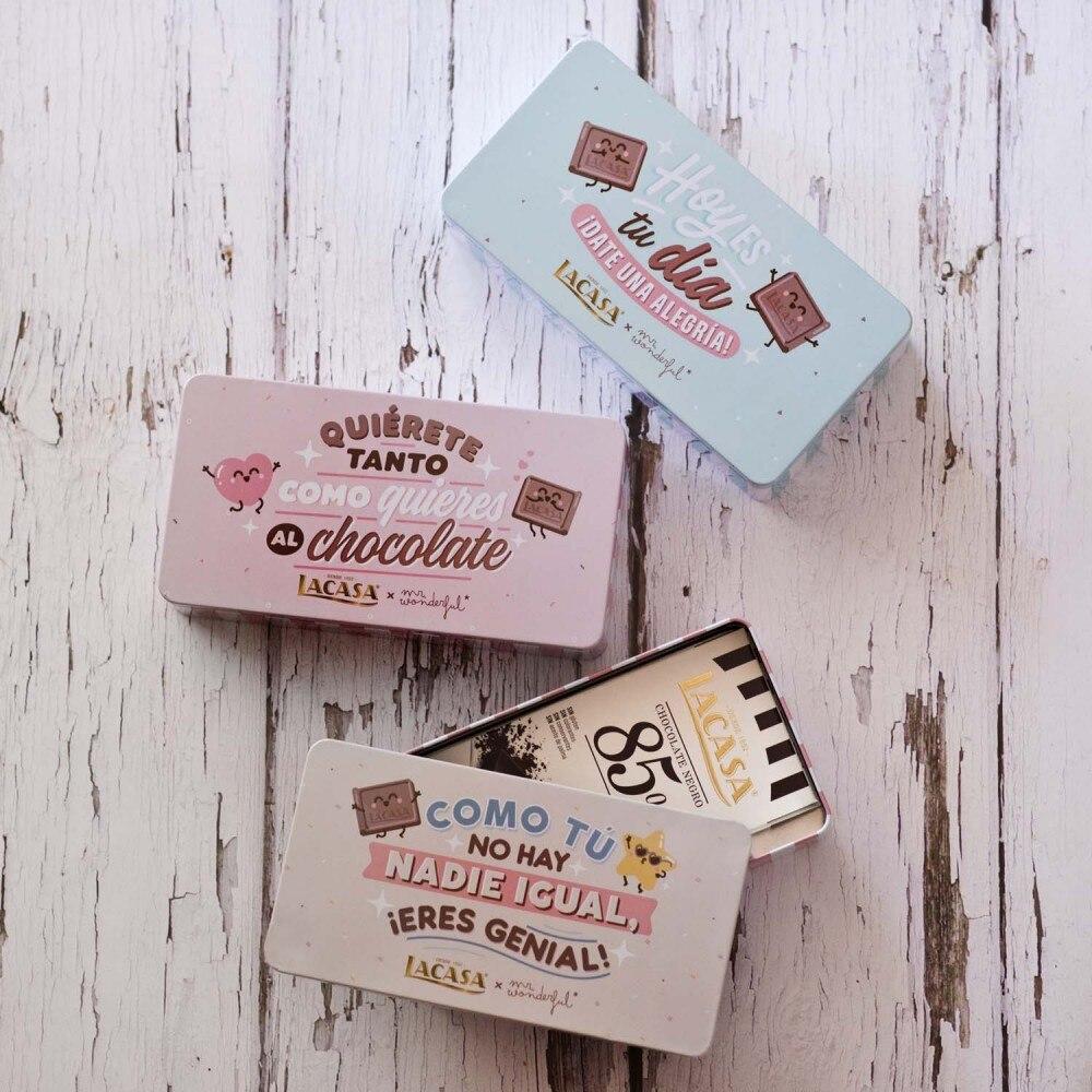 Lacasa Lata 2 tablets 85% cocoa Mr Wonderful Beige · 200g.