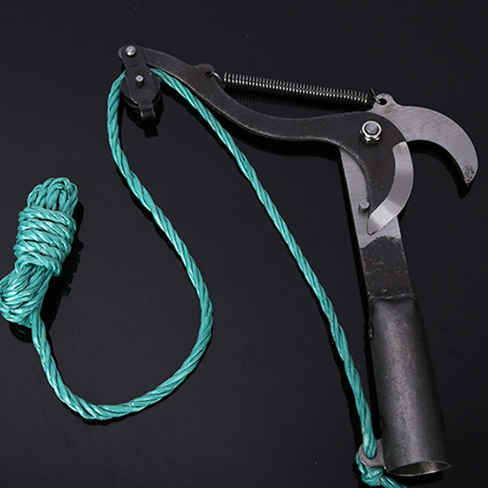 Garden Scissors Pruning Tool Tall Tree Branch Lopper High-Altitude Shears Picking Fruit Garden Trimmer Saw Branches Cutter