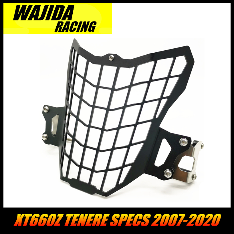FOR YAMAHA <font><b>XT660Z</b></font> TENERE SPECS 2007-2020 Headlight Protection Guard Cover image
