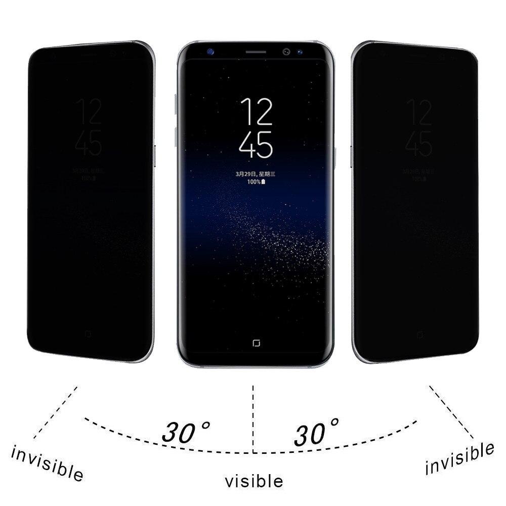 Защитные пленки для экрана, ультратонкое прочное защитное закаленное стекло твердостью 9H для Samsung Galaxy S8 Plus