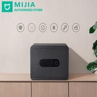 Neue Xiaomi Mi Mijia Smart Safe C-Niveau Sperre Zylinder 6 Möglichkeiten Entsperren Automatische Alarm Kamera Aufnahme 12 monate Standy
